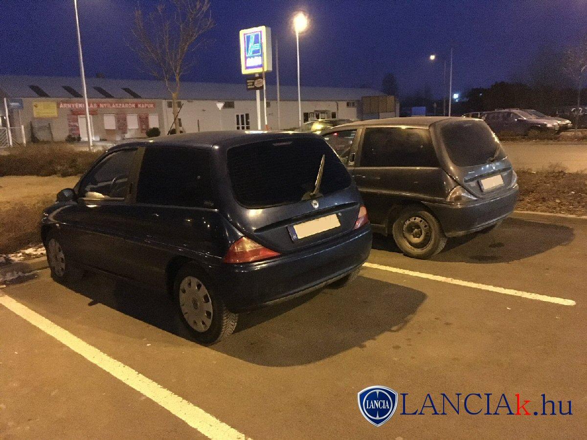 Lancia Y és Lancia Y Cosmopolitan