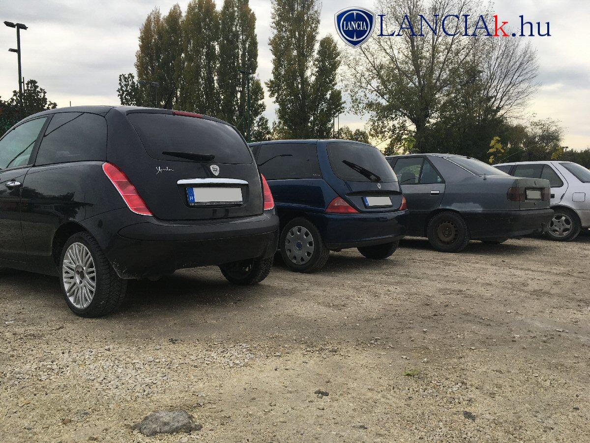 Lancia Y 2., Lancia Y 1. és Lancia Dedra